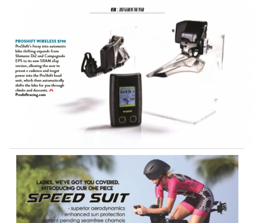 LAVA Magazine Awards Gear Of The Year to ProShift